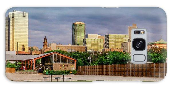 Fortworth Texas Cityscape Galaxy Case