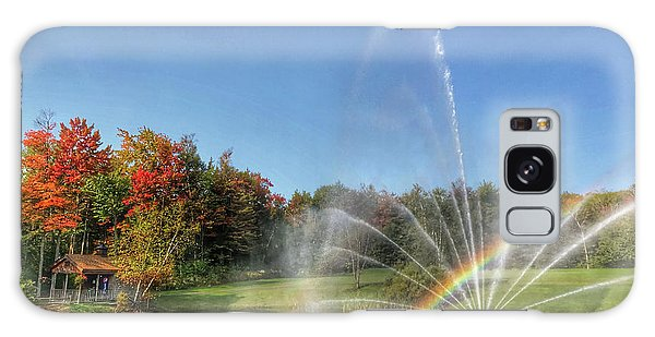Fountain At Tater Hill Galaxy Case