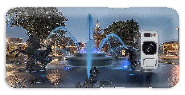 Fountain Blue Galaxy Case