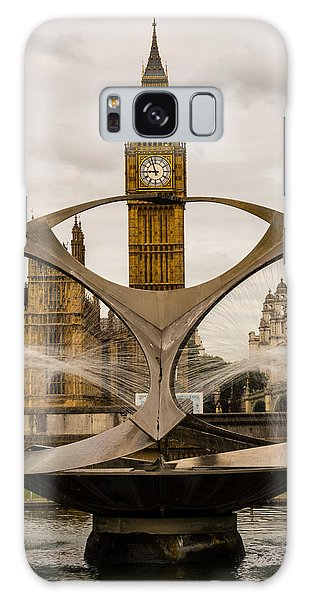 Fountain With Big Ben Galaxy Case