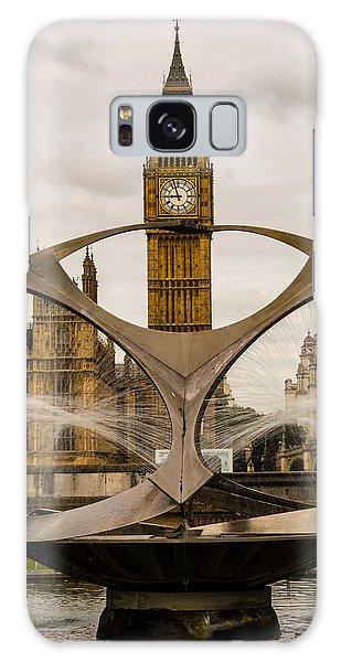Fountain With Big Ben Galaxy Case