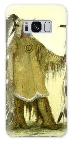 Four Bears Mandan Chief 1833 Galaxy Case