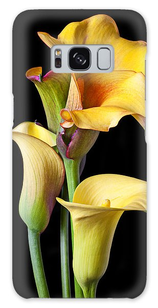Four Calla Lilies Galaxy Case