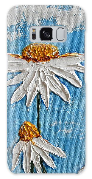 Four Daisies Galaxy Case