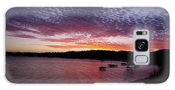 Four Elements Sunset Sequence 1 Coconuts Qld  Galaxy Case