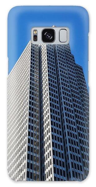 Four Embarcadero Center Office Building - San Francisco - Vertical View Galaxy Case by Matt Harang