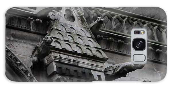 Four Gargoyles On Notre Dame North Galaxy Case