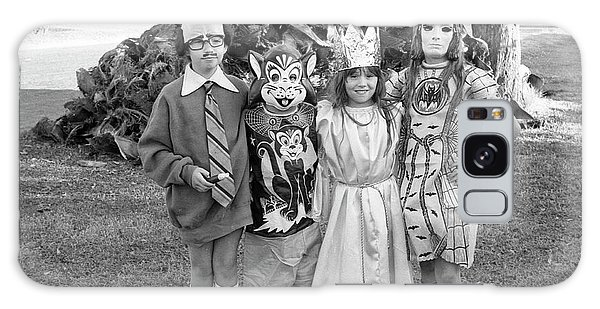 Four Girls In Halloween Costumes, 1971, Part One Galaxy Case