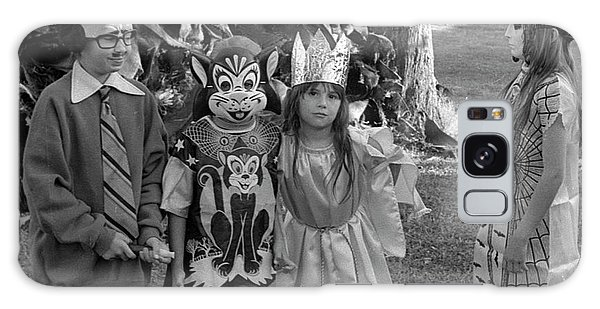 Four Girls In Halloween Costumes, 1971, Part Two Galaxy Case