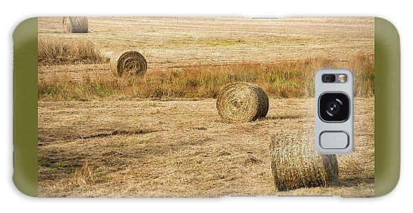Four Hay Balls -  Galaxy Case