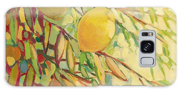 Impressionist Galaxy Case - Four Lemons by Jennifer Lommers