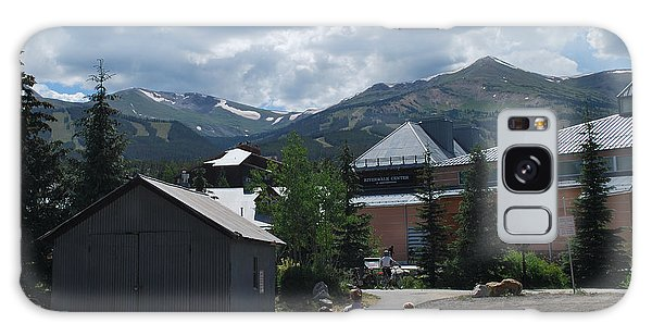 Four Little Children Safe In A Big Beautiful World Telluride Colorado Galaxy Case