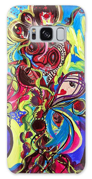 Experimenting With Creation Galaxy Case by Marina Petro