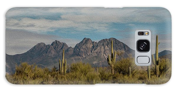 Four Peaks Painterly Galaxy Case