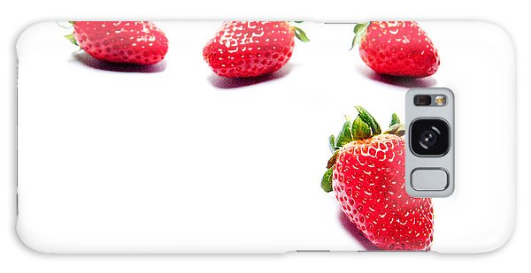 Four Strawberries Galaxy Case
