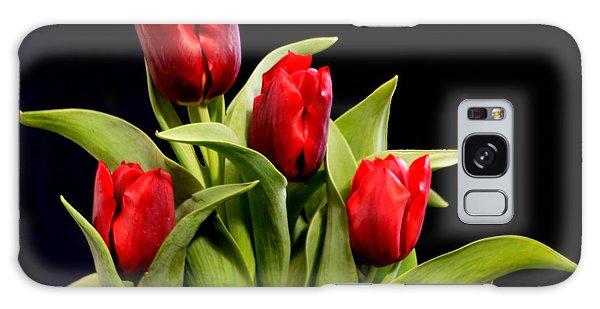Four Tulips Galaxy Case