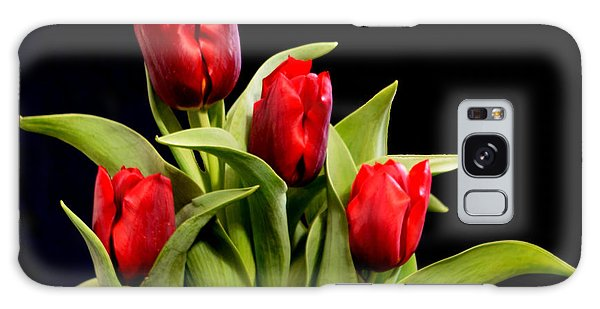 Four Tulips Galaxy Case