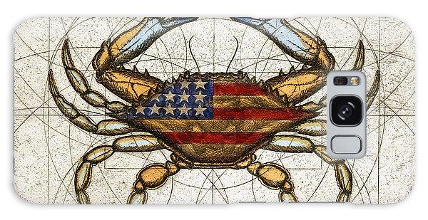 Fourth Of July Crab Galaxy Case