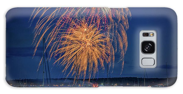 Galaxy Case featuring the photograph Fourth Of July In Boothbay Harbor by Rick Berk