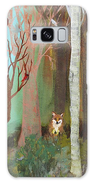 Fox In The Forest  Galaxy Case