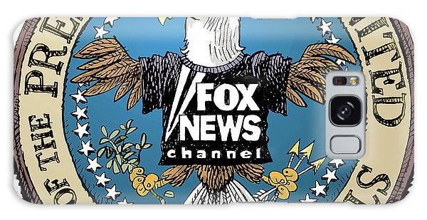 Fox News Presidential Seal Galaxy Case