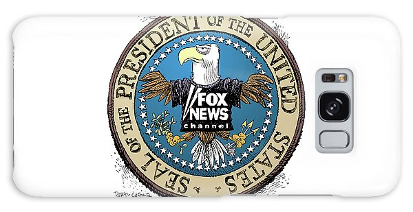 Fox News Presidential Seal Galaxy Case