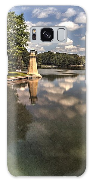 Fox River Lighthouse Geneva Illinois Galaxy Case