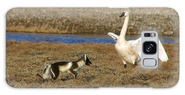 Fox Vs Tundra Swan Galaxy Case