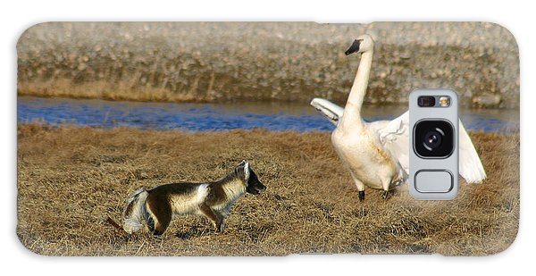 Fox Vs Tundra Swan Galaxy Case