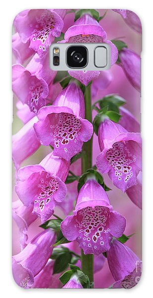 Galaxy Case featuring the photograph Foxglove Flowers by Edward Fielding