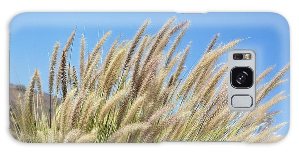 Foxtails On A Hill Galaxy Case