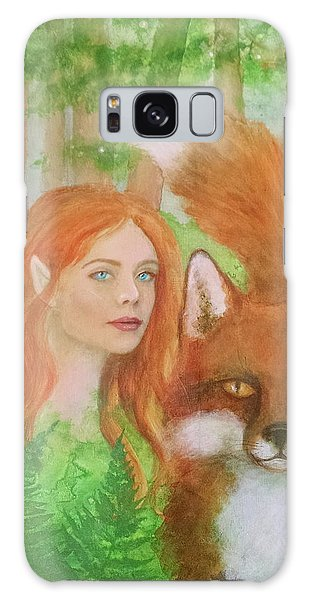 Foxy Faery Galaxy Case