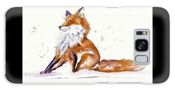 Foxy Flea Magnet Galaxy Case