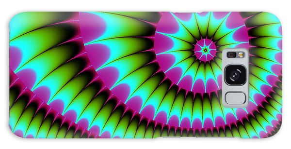 Fractal  167 Galaxy Case by Charmaine Zoe