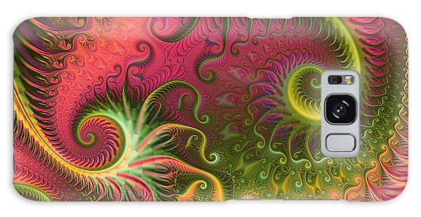 Fractal Ameba Galaxy Case by Digital Art Cafe