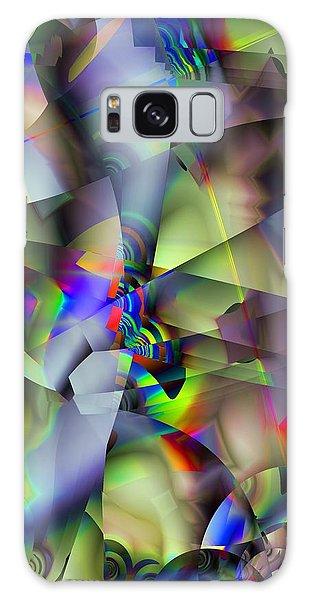Fractal Cubism Galaxy Case