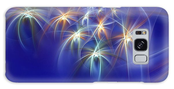 Fractal Fireworks Galaxy Case by Richard Ortolano