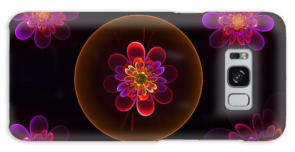 Fractal Flowers Galaxy Case