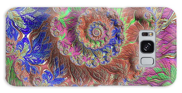 Fractal Garden Galaxy Case by Bonnie Bruno