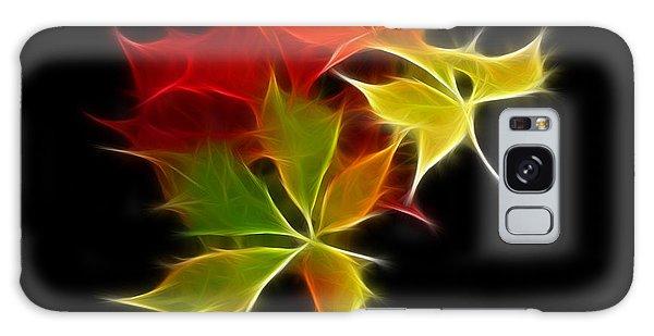 Fractal Leaves Galaxy Case