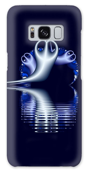 Fractal Peeble Ghosts Galaxy Case