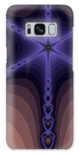 Fractals Yum Beige Galaxy Case