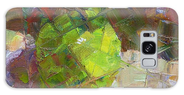 Fractured Granny Smith Galaxy Case by Susan Woodward