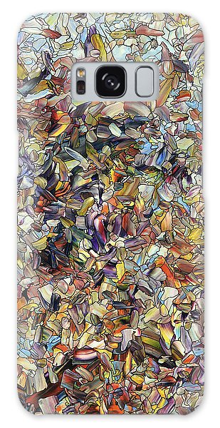 Equine Galaxy Case - Fragmented Horse by James W Johnson