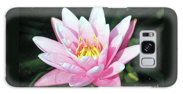 Frail Beauty - A Water Lily Galaxy Case by J Jaiam