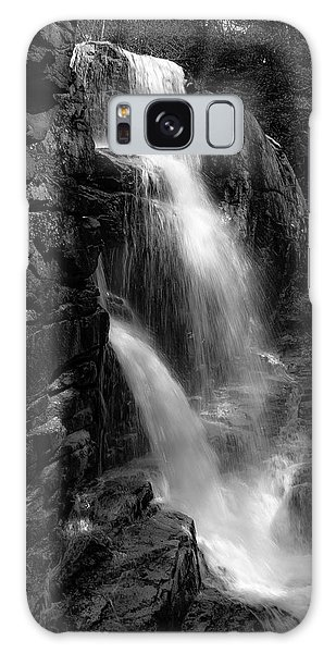 Franconia Notch Waterfall Galaxy Case by Jason Moynihan