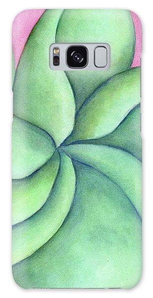 Frangipani Green Galaxy Case by Versel Reid