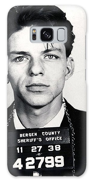 1950s Galaxy Case - Frank Sinatra Mug Shot Vertical by Tony Rubino