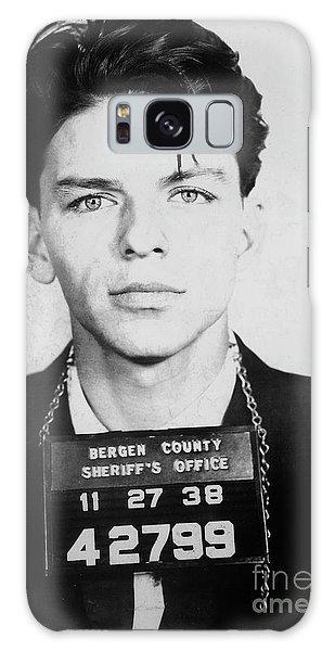 Frank Sinatra Mugshot Galaxy Case by Jon Neidert
