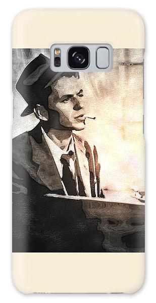 Frank Sinatra - Vintage Painting Galaxy Case